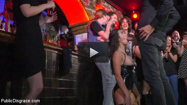 Underground Goth Club turns into a Wild Fuck Party!