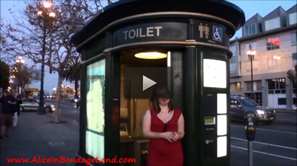Piss Pants Public Toilet Humiliation — Mistress Alice and Madame TrixieFou