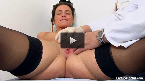 Elsa — 21 years girls gyno exam (2014)