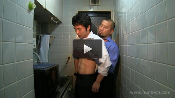 Hunk Channel — GV-OAV502俺ノブチョウ。~雄臭い憧れの営業本部長が俺のイチモツをケツ穴に誘い込む!!~