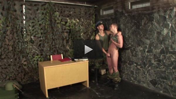 Breed That Soldier's Ass - threesomes, bareback, sex, tight ass