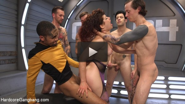Star Trek: The Next Penetration — First Gangbang & Double Penetration!