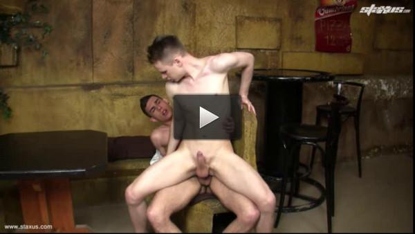 Bareback young European gays