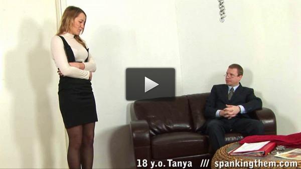 Spanking — Tanya 18 y.o (2013)