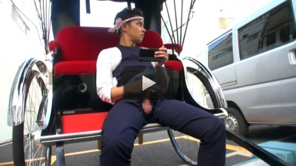 Rickshaw Boy - Uesugi Daigo - Asian Gay, Hardcore, Blowjob