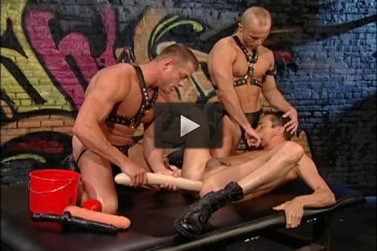 Fists and toys orgy