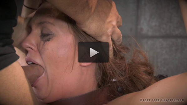 Messy Maddy O'Reilly destroyed by dick, brutal deepthroating on 2 cocks!