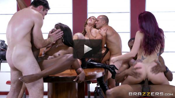 Nikki Benz, Charles Dera, Monique Alexander — Ghostbusters XXX Parody Part 4 FullHD 1080p