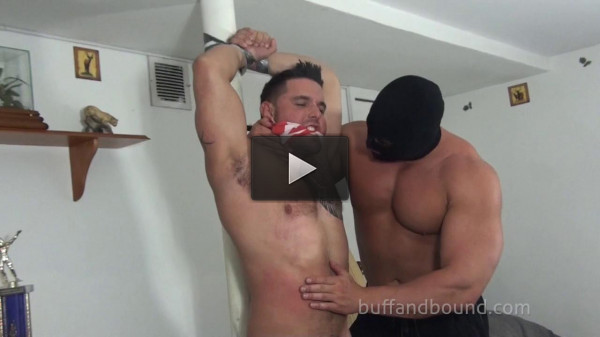 BuffAndBound Ronnie J — Bound and Stripped