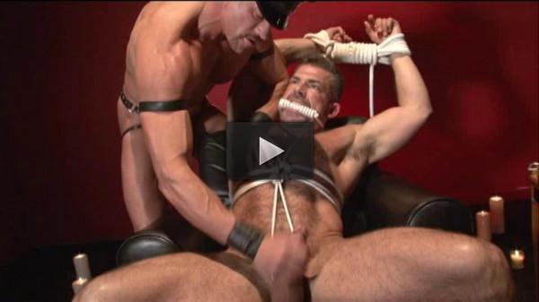 Muscle men brutal fetish action