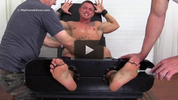 Sebastian Young Tickled Naked