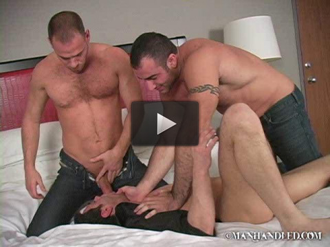 Manhandled — Wrong Room — Spencer Reed Drew Cutler & Tristan Phoenix