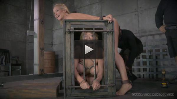 Cougar Simone Sonay blindfolded
