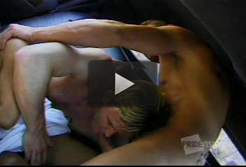 Orgy with bisexual guys