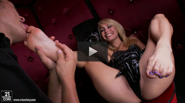 Footjob With Monique Alexander