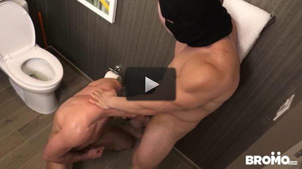 He Likes It Rough and Raw Pt 1 (Brendan Phillips and Jaxton Wheeler) - stud, kissing, domina
