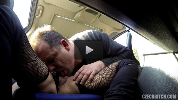 Mature Bitch With Big Boobs Fucked In Car (720)