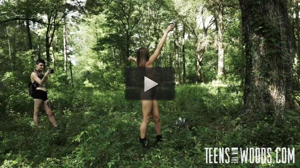 TeensInTheWoods — Kirsten Lee Wood Nympho