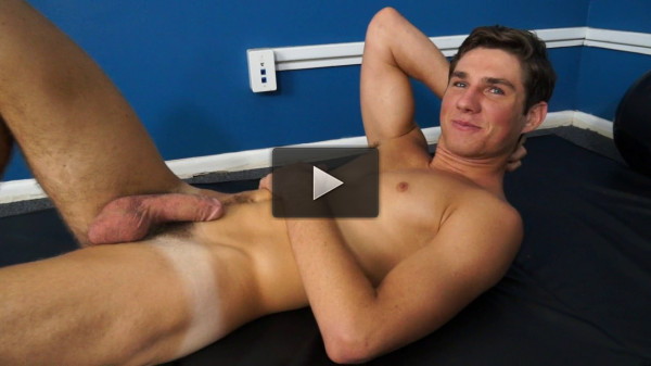 18 Year Old Billy Taylor dives head first into gay porn - hard core, white hot, free gay.