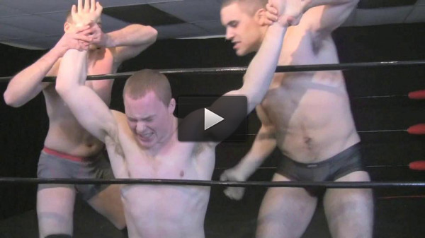 Muscle Domination Wrestling – S03E02 – Cocky Rookie Initiation