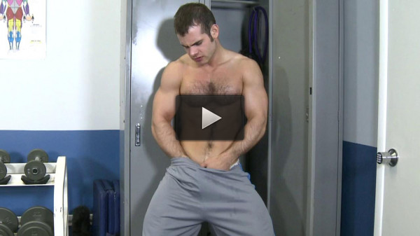Fingering after a workout!