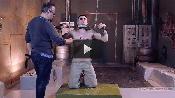 RusCapturedBoys — Slaves Auction — Artem — Part II