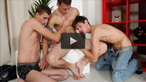 Bareback Cock Sliders - load, stud, blow