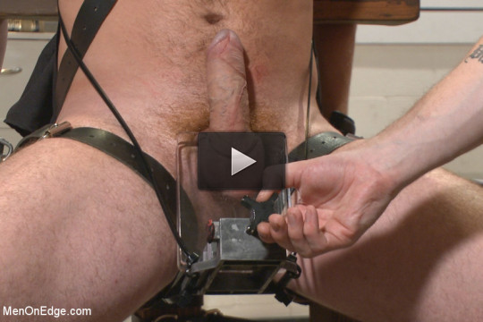 Officer Maguire edged and gets an electric buttplug for the first time!