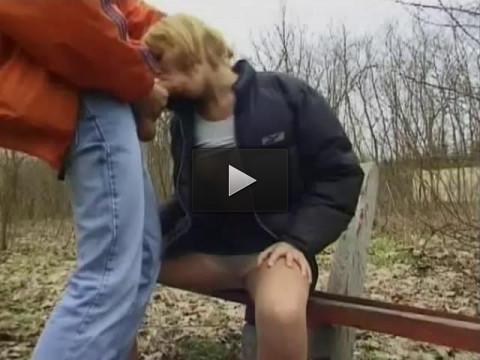 Erniedrigte deutsche Waldfotzen — Die Spermagierigen