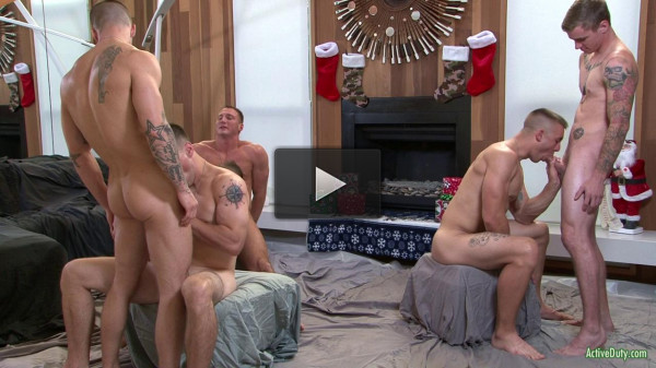 The Christmas orgy (incredible, download, first, cocks, vid)