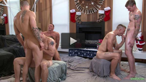 The Christmas orgy