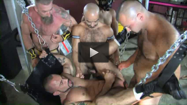 Brutal Piss Whores In Orgy