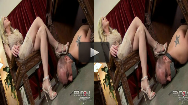 3D — Mistress Brandi Love — Office Foot Bitch