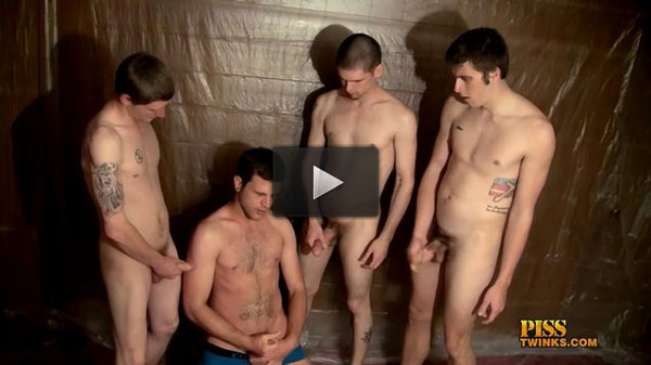 Cooper, Nolan, Welsey, Mathias & Ivan in «Piss Loving Welsey And The Boys» (360p)