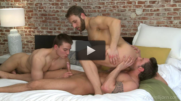 Men In The City - Double Match Jan Faust, Jalil Jafar, Rado Zuska - perfect, hard, bareback...