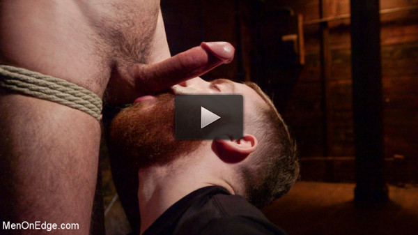 Ripped Stud Caught in Sebastian's Web and Edged Relentlessly - caught, tiny, milk...