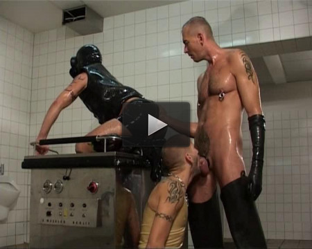 Perverts in fisting, latex and pissing