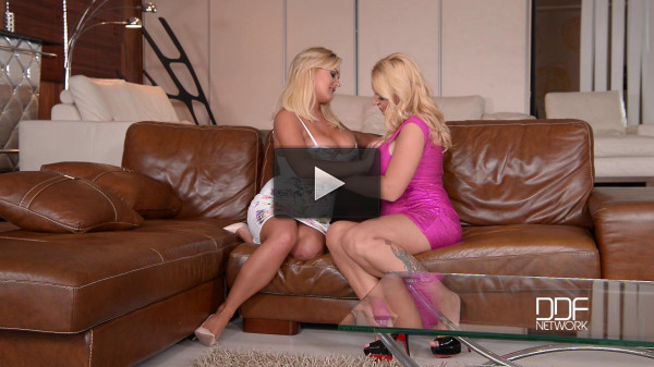 Dolly Fox, Katie Thornton — Divine Tits Fulfillment — Voluptuous Girls Squeeze Their Tits