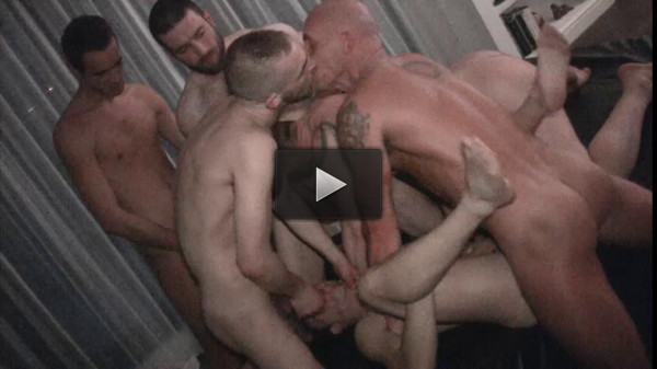 London Gang Bang With Brutal Men