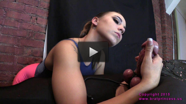 Sasha Foxxx Helpless Male with Bound Balls F Milked and Ruined (2015)