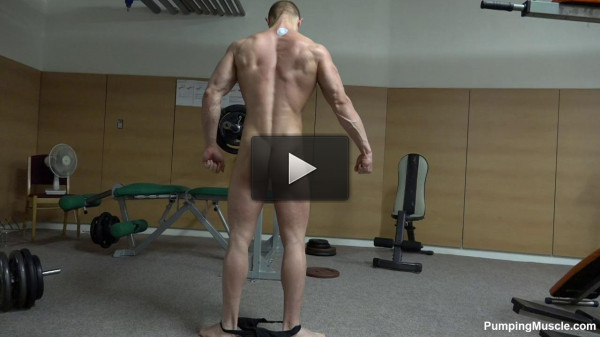 Pumping Muscle — Mason R Photo Shoot 1