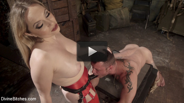Aiden Starr Dominates Sexy Military Hard Ass