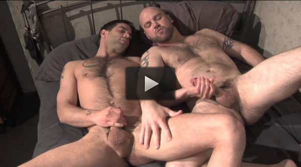 Men Of Massive Cock In Orgy