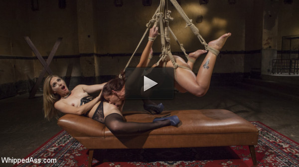 Pervert Therapy: Horny MILF bound, fisted and anally strap-on fucked!