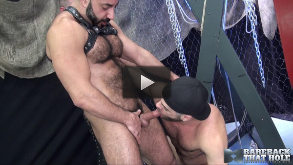 Bareback That Hole — Part 1 - Amir Badri, Marcus Isaacs & Matthieu Angel