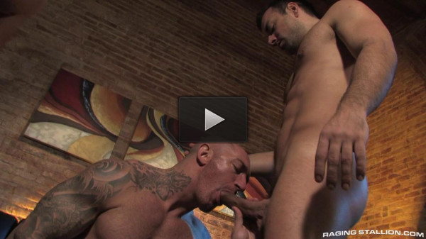 Muscle men sucking and fucking raw