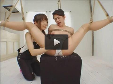 DDT — 183 - Double Underarm Hair Lesbian . Maki Tomada and Mayura Hoshizuki