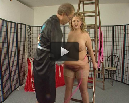 Nasty BBW slavegirl