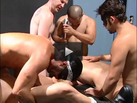 Brutal Gangbang With Monster Dicks & Dildos