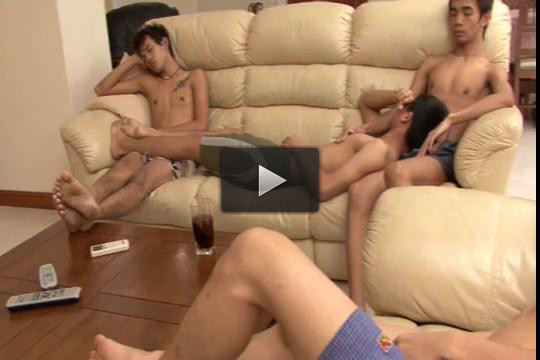 Toe Licking Asian Twinks